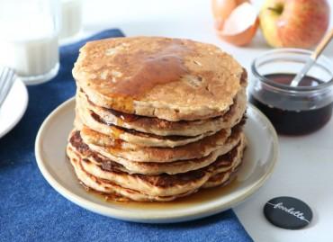 Pancakes super moelleux pomme-érable
