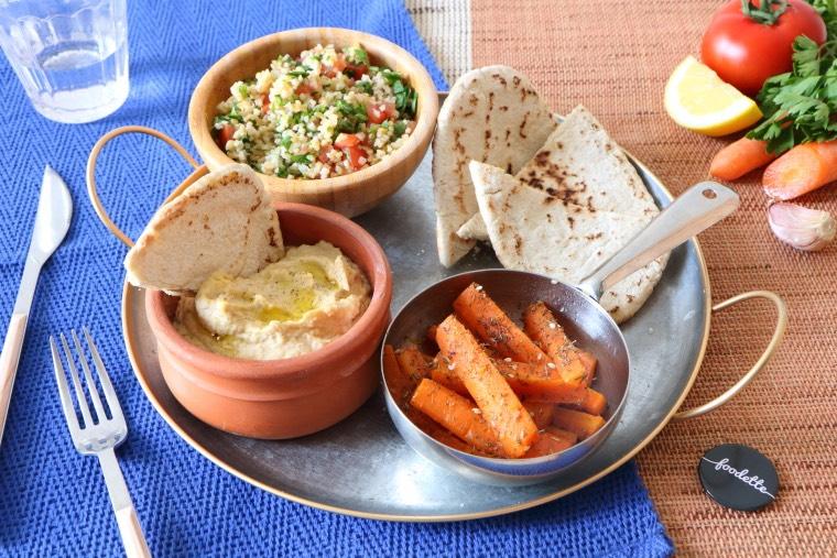Mezze libanais : la recette de Mezze libanais Foodette on