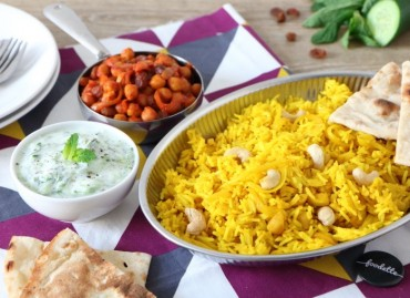 Assiette Bollywood