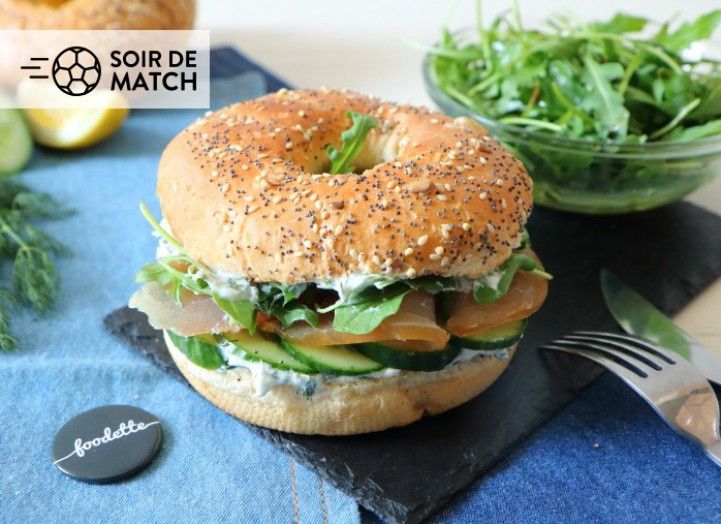 "Bagel ""Marlin l'Enchanteur"""