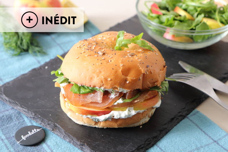 "Bagel ""Marlin l'Enchanteur"", version automnale"
