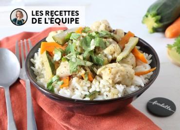 Curry thaï de poisson