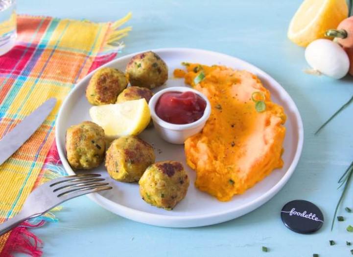 Boulettes de merlu à la créole