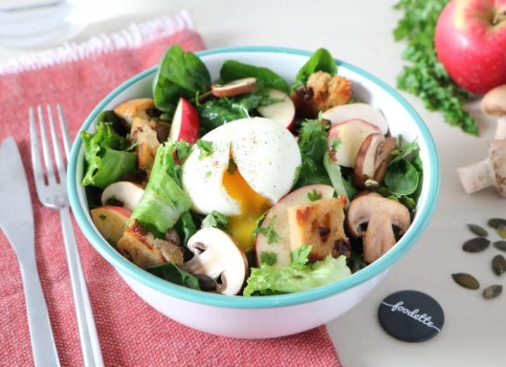 LES OMEGAS 3 : Bowl automnal et oeufs mollets