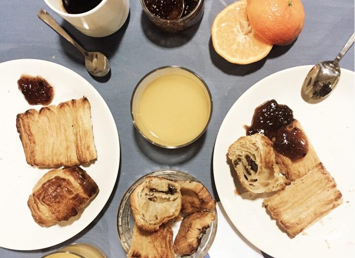 Le petit déjeuner foodette