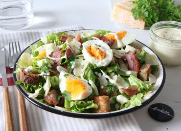 Californian Salad et Pancetta Croustillante