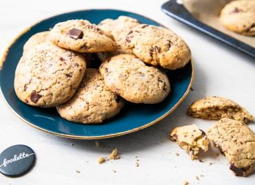 Cookies choco-sésame