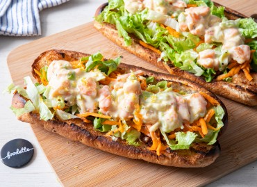 Shrimp roll et mayo citronnée