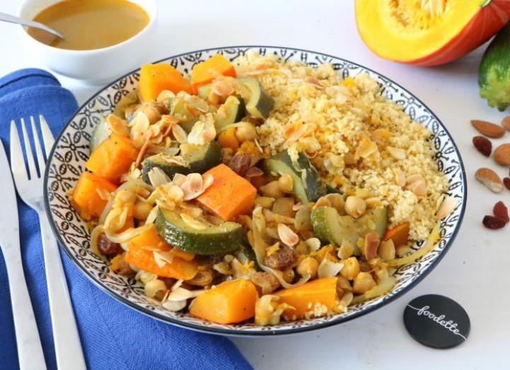 Couscous de légumes d'automne