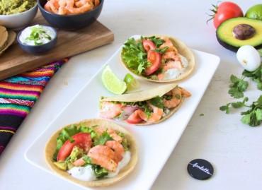 Summer Tacos aux crevettes