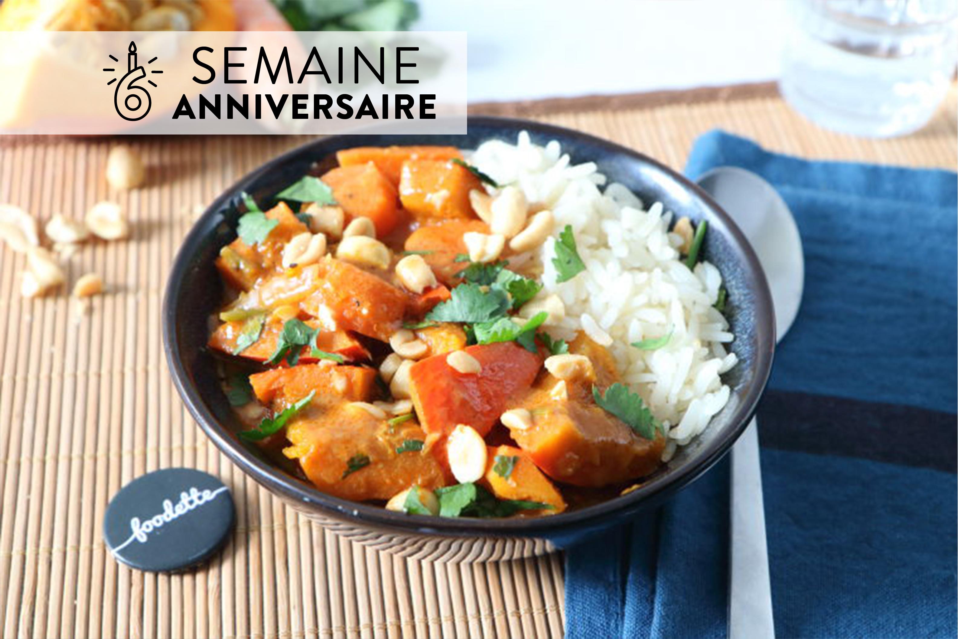 Curry thaï veggie d'Anne-Catherine
