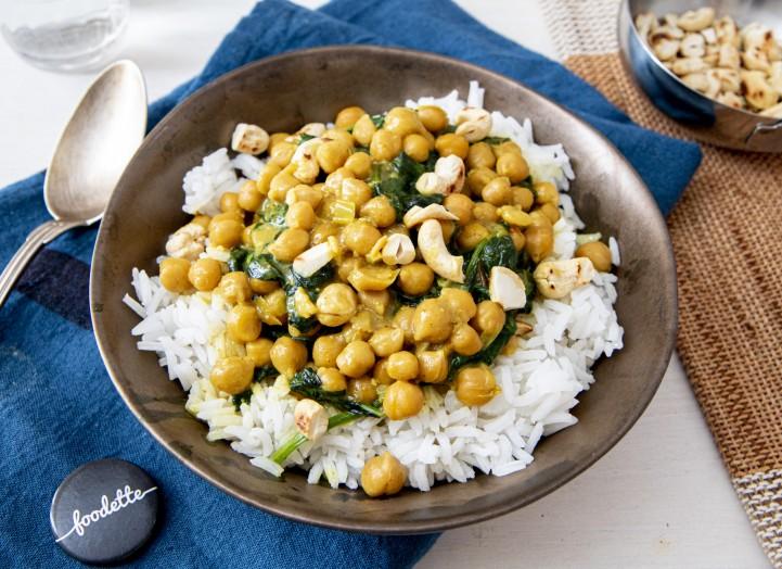 Curry indien coco-cajou