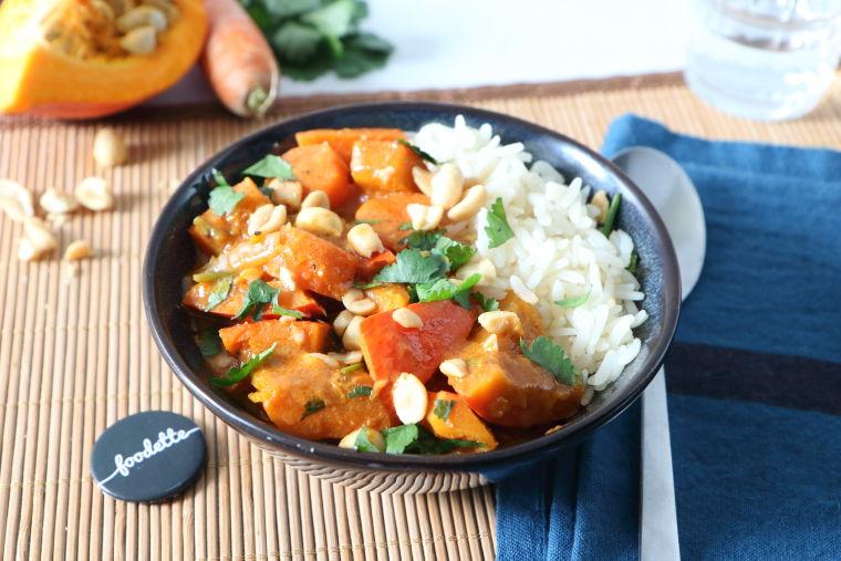 Curry thaï veggie