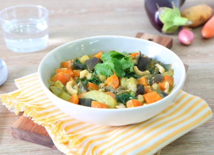 Curry de légumes de saison