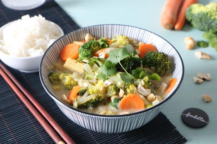 Curry vert comme à Bangkok