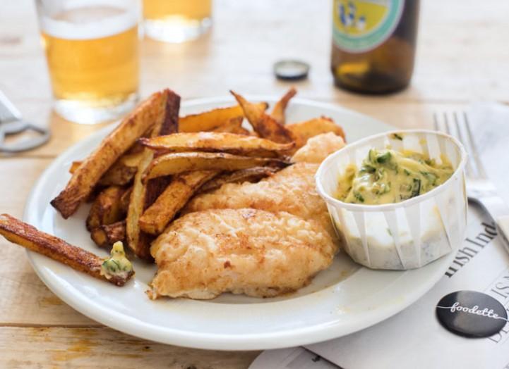 Fish & Chips et sauce tartare maison