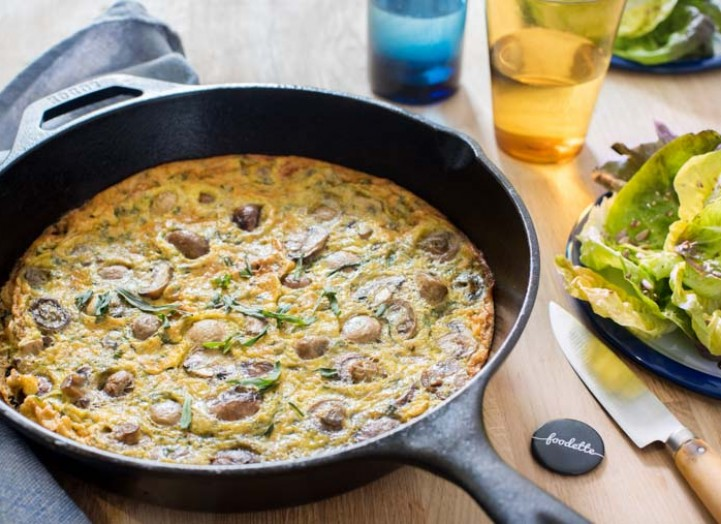 Frittata forestière