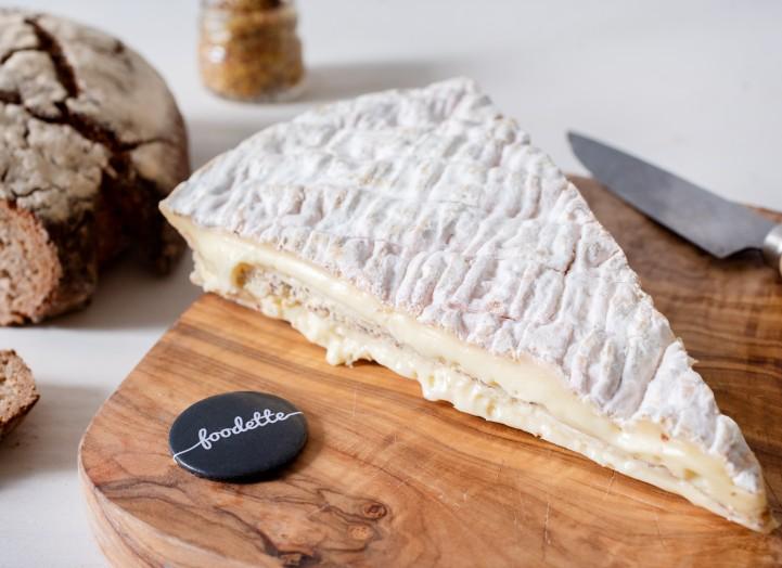 Brie moutarde de la maison Pommery