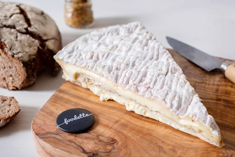 Brie à la moutarde de Meaux