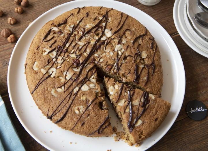 Gâteau moelleux Choco-noisettes