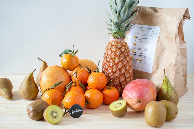 Grand panier de fruits