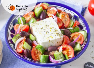 Horiatiki salata : La vraie salade grecque