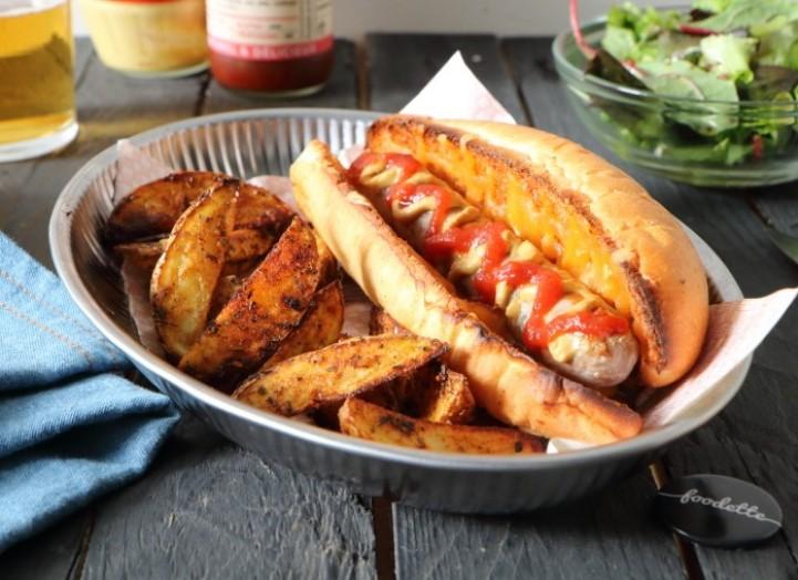 Hot dog comme à Brooklyn