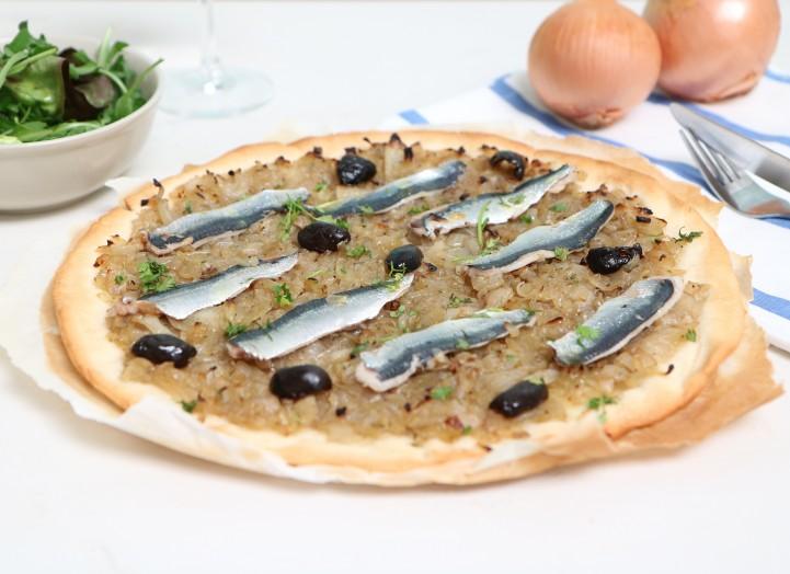 Pissaladière aux sardines fraîches