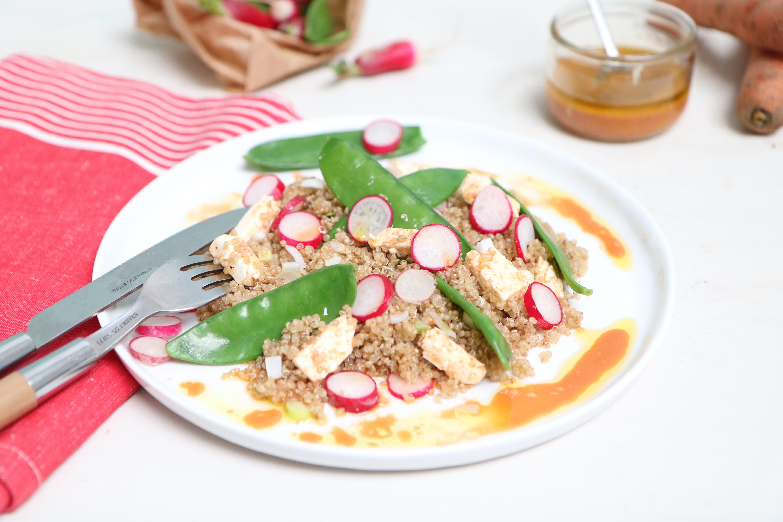 Salade croquante & colorée