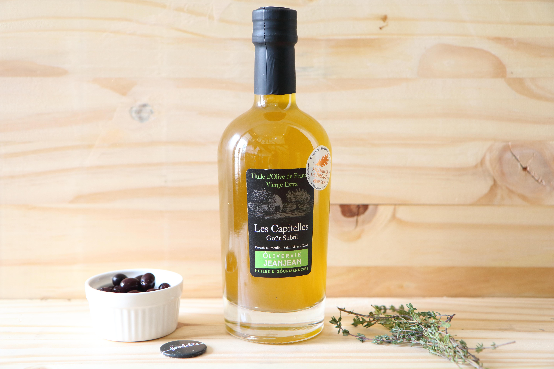 """Huile d'olive de Nîmes """"Les Capitelles"""""""