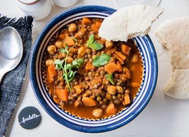 Soupe marocaine façon harira