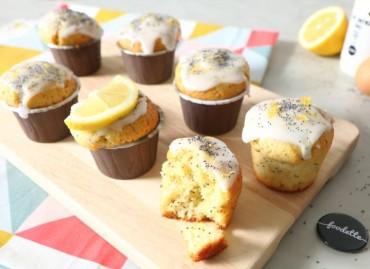 Muffins moelleux citron/pavot
