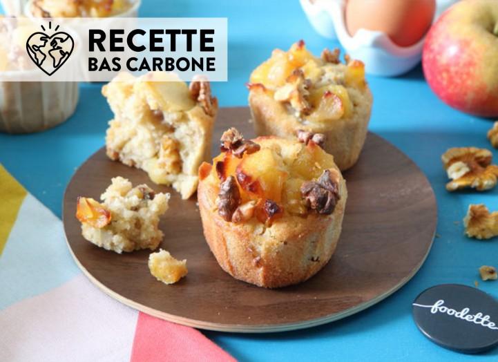 Muffins d'automne aux fruits caramélisés