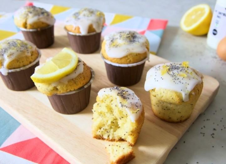 VITAMINE C : Muffins moelleux citron/pavot