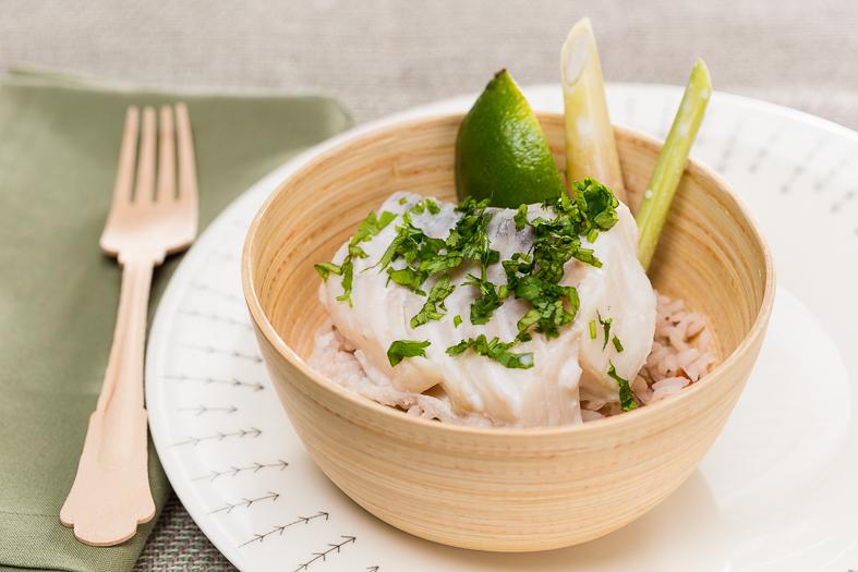 Dos de cabillaud façon Thaï & riz sauvage : la recette de ...