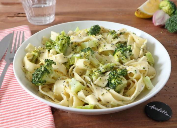 Pasta al limone e broccoli