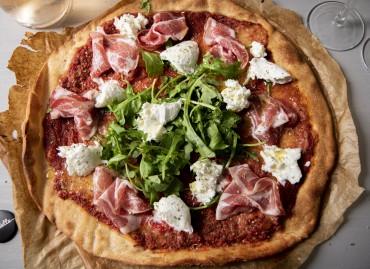 Pizza Coppa/Mozza/Rucola