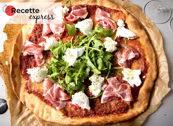 Pizza Coppa/Mozza/Rucola