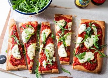 Pizza Focaccia Chèvre/Miel/Romarin