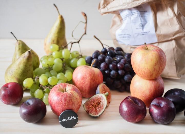 Grand panier de fruits Bio