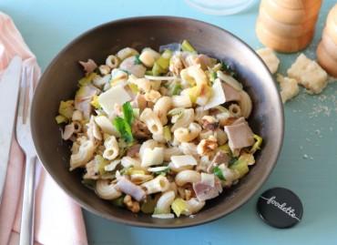 Risotto de coquillettes au jambon artisanal et Grana Padano