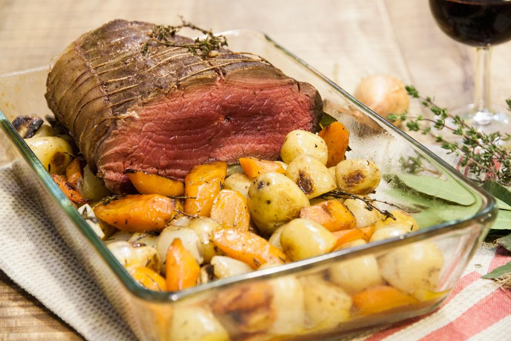 Le r ti comme chez mamie la recette de le r ti comme chez mamie foodette - Comment cuisiner le boeuf ...