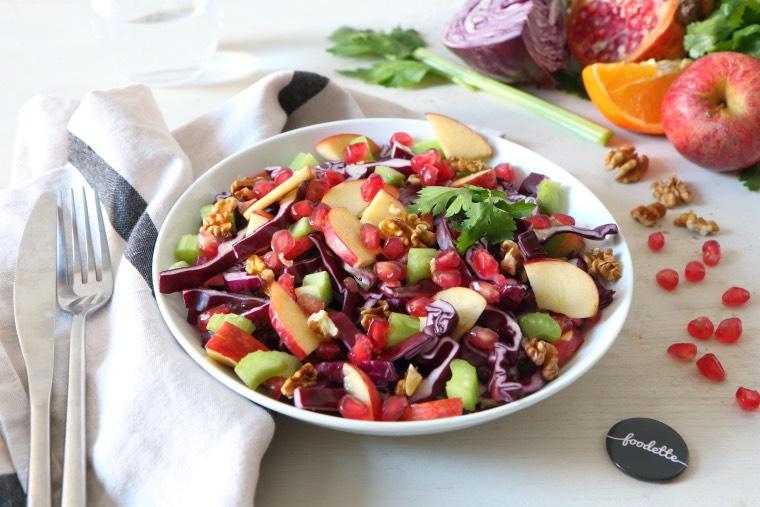 Salade d'hiver ensoleillée