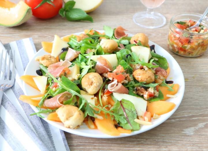 Salade arlequin