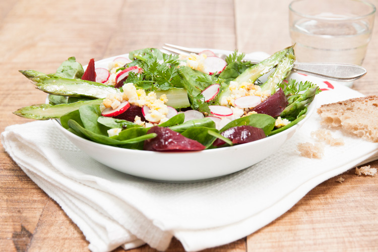 Salade d'asperges and co