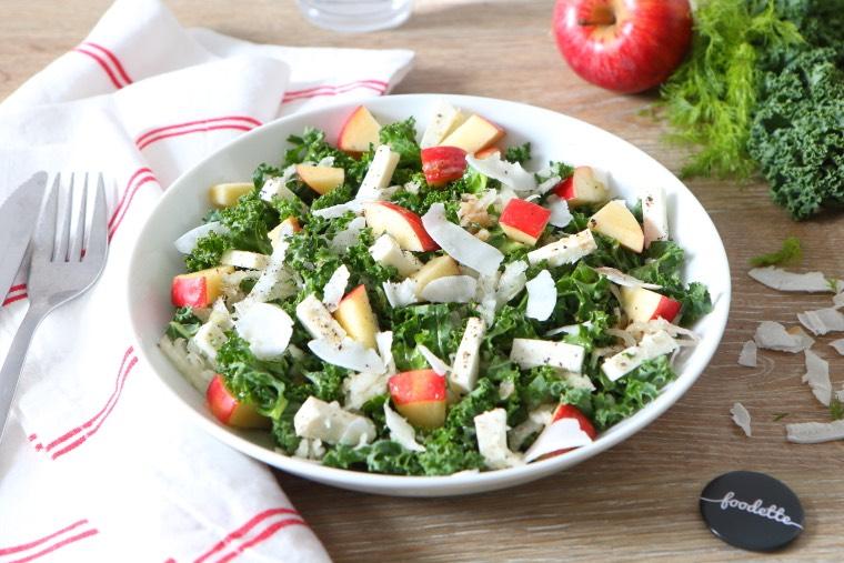 Salade (très) bonnes résolutions