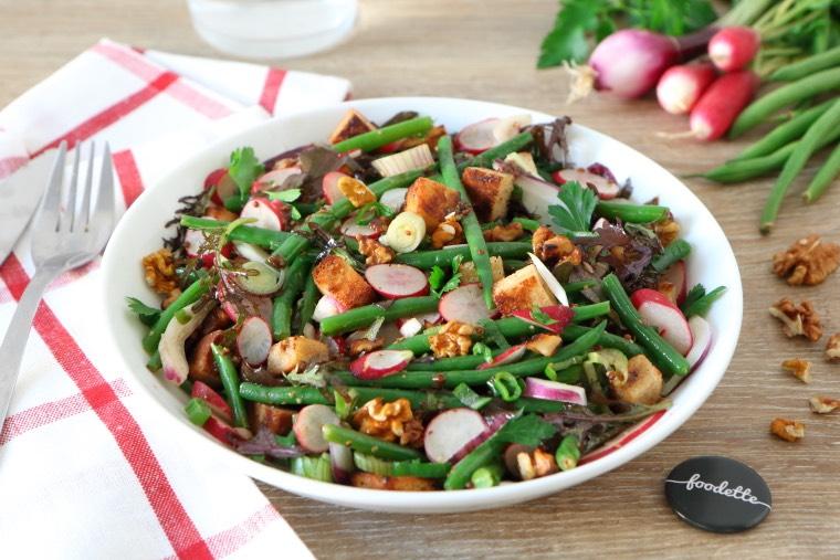 Salade retour de marché