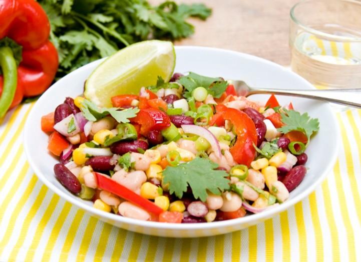 Salade de Haricots relevée