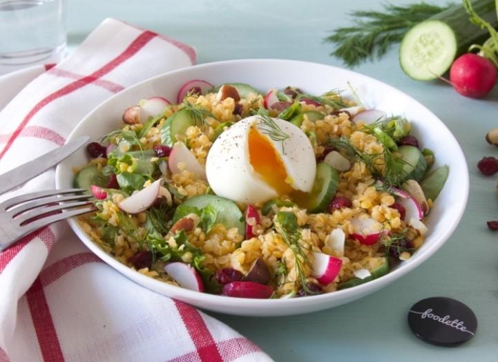 Salade corail
