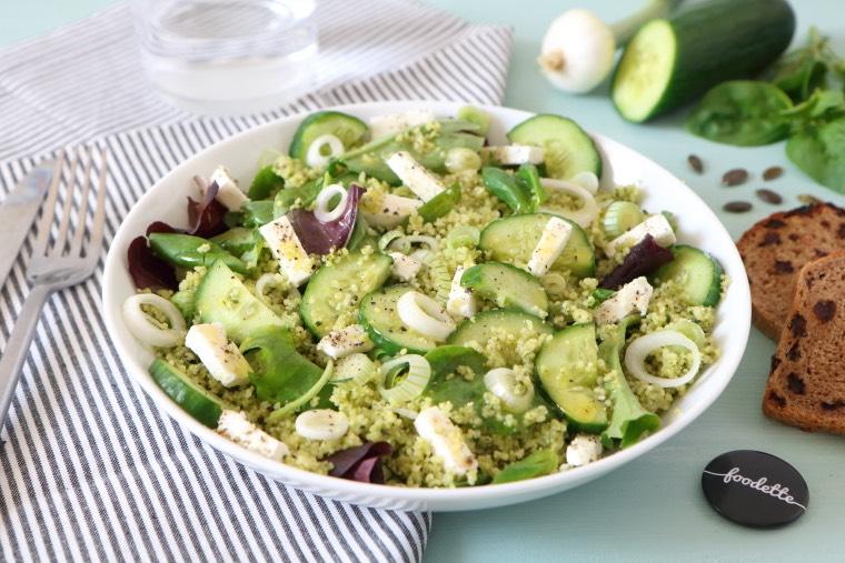Salade follement fraîche